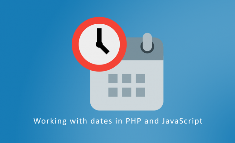 Working with dates in PHP and JavaScript