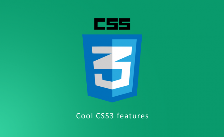 Cool CSS3 features