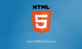 Cool HTM5 Features, Part 2