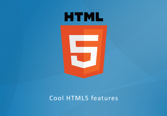 Cool HTM5 Features, Part 2