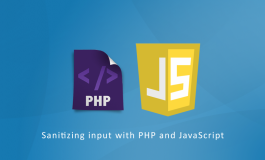 Sanitizing input with PHP and JavaScript