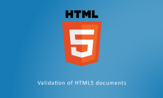 Validation of HTML5 documents