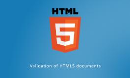 Validation of HTML5 documents