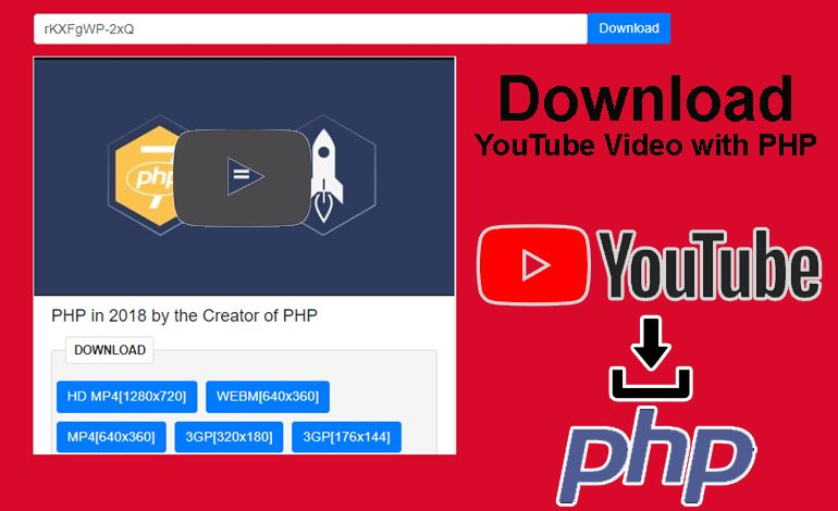 How to Download YouTube Video with PHP