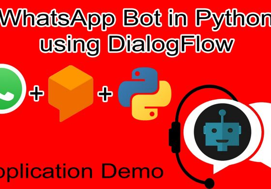 WhatsApp chatbot in Python using Dialogflow.com