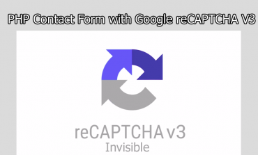 PHP Contact Form with Google reCAPTCHA V3