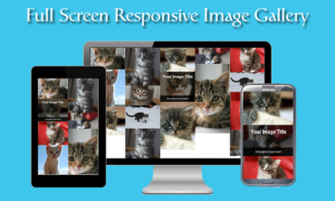 How to create Full Screen Responsive Image Gallery using CSS and Masonry